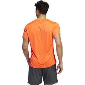 adidas OWN The Run Camiseta Hombre, solar red